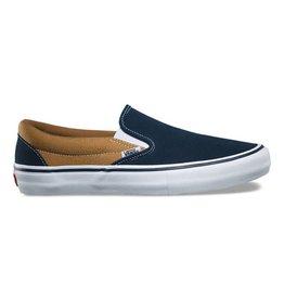 Vans Shoes Slip On Pro Dress Blue/Gold