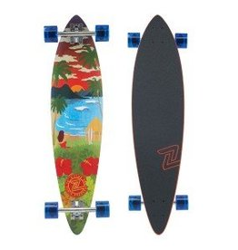 "Z Flex Z-Flex Pintail Longboards 38"" Aloha Sunset"