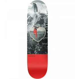 "Lovesick Skateboards Hung Upside Down 8.25"""