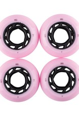 Welcome Skateboards Orbs Ghost LItes Pink/Black 54mm