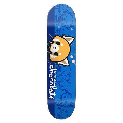 "Chocolate Skateboards Anderson Aggretsuko 7.8"""