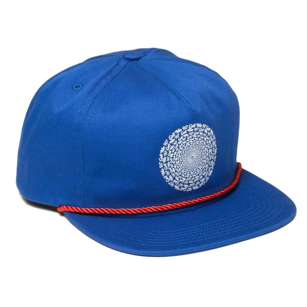 CallMe917 Hypnotic Hat Navy