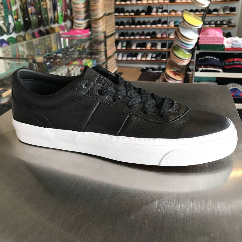 58325983bd0a ... real converse usa inc. one star cc black white leather 3c5b2 a8f95