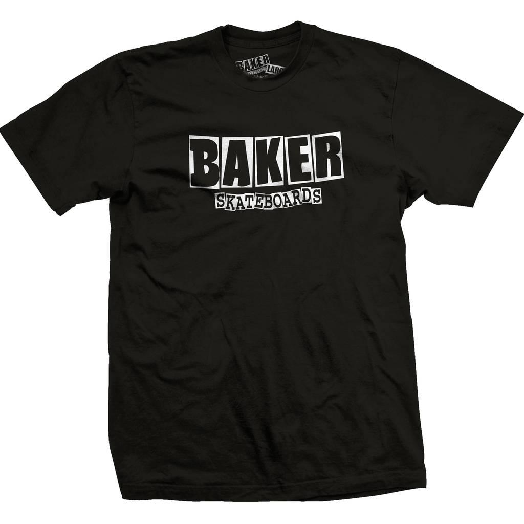 Baker Skateboards Brand Logo Tee Blk/Wht