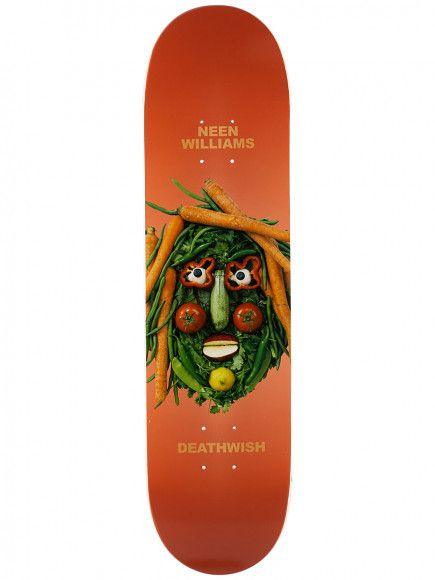 Deathwish Skateboards You Are What You Eat NW 8.0""