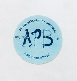 APB Skateshop APB Gateway Sticker