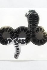 APB Skateshop APB Snake Em All Mirror Die Cut Sticker