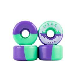 Welcome Skateboards Orbs Specters Mint/Lavender 53mm
