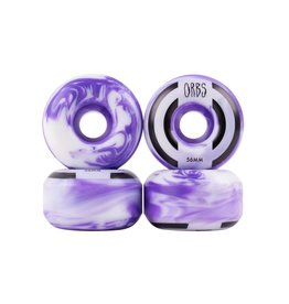 Welcome Skateboards Orbs Apparitions Purple/White 56mm