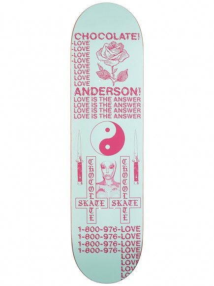 Chocolate Skateboards Darkside Series Anderson 8.125""