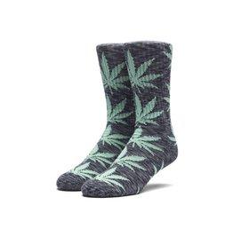 HUF Melange Plantlife Sock Black