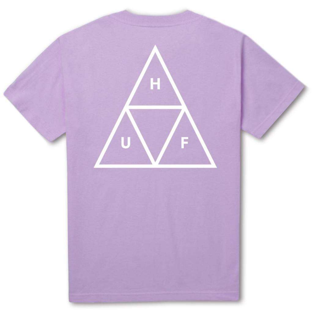 HUF Triple Triangle Tee Lavender