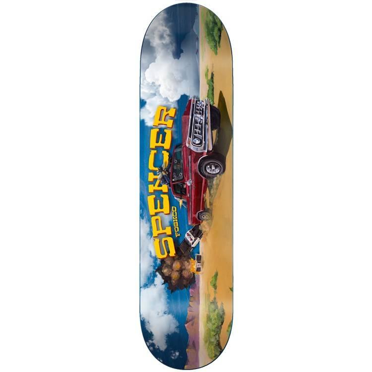 "Foundation Skateboards Spencer Wild Ride 8.375"""