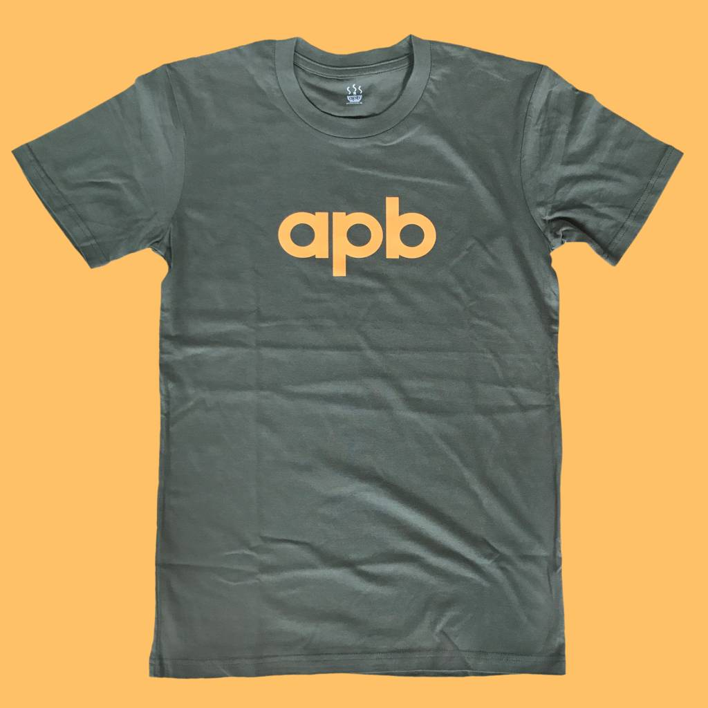 APB Skateshop APB Logo Army w/ Orange