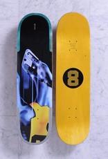Quasi Skateboards Hound Aqua 8.375