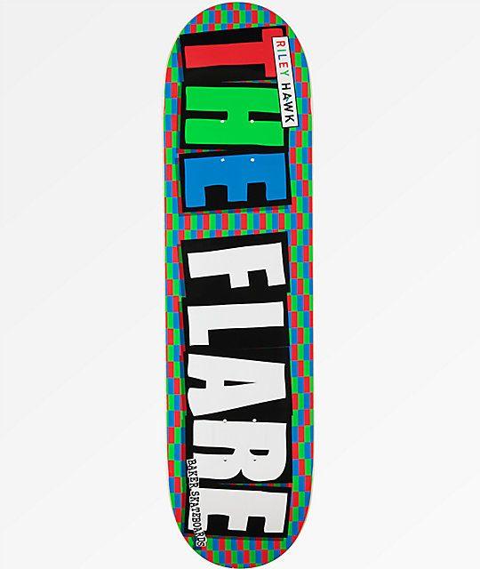Baker Skateboards Riley Hawk x The Flare