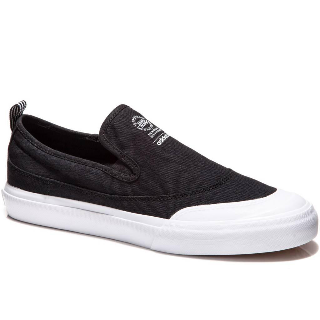 Adidas Matchcourt Slip Black/White Canvas