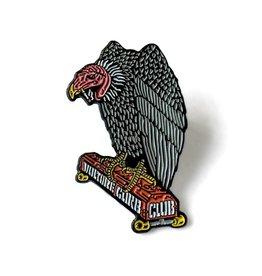 Black Label Vulture Curb Club Pin