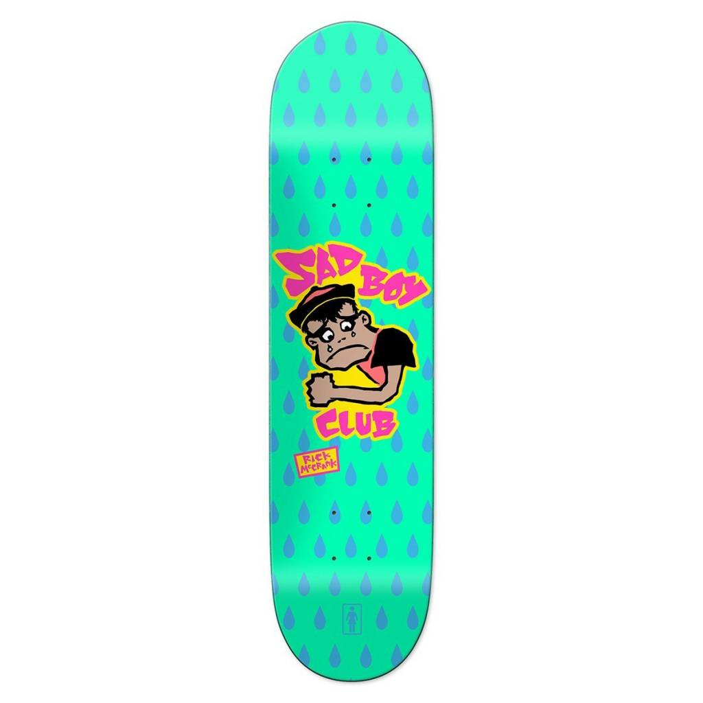 Girl Skateboard Company McCrank Sad Boy 8.375""