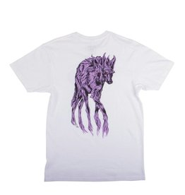 Welcome Skateboards Maned Woof Tee White/Lavender