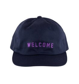 Welcome Skateboards Academic Unstructured Snapback Navy
