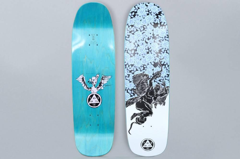 "Welcome Skateboards Seraphim on Golem Black/White 9.25"""