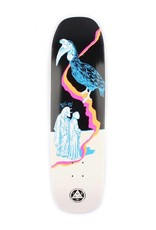 Welcome Skateboards Inferno on Stonecipher Blk/Wht Wash 8.6""