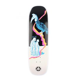 """Welcome Skateboards Inferno on Stonecipher Blk/Wht Wash 8.6"""""""