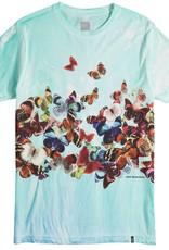 HUF Butterfly Effect Tie Dye Blue