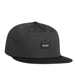 HUF Bar Logo Snapback Charcoal