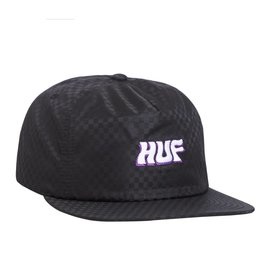 HUF Backstage Snapback Black
