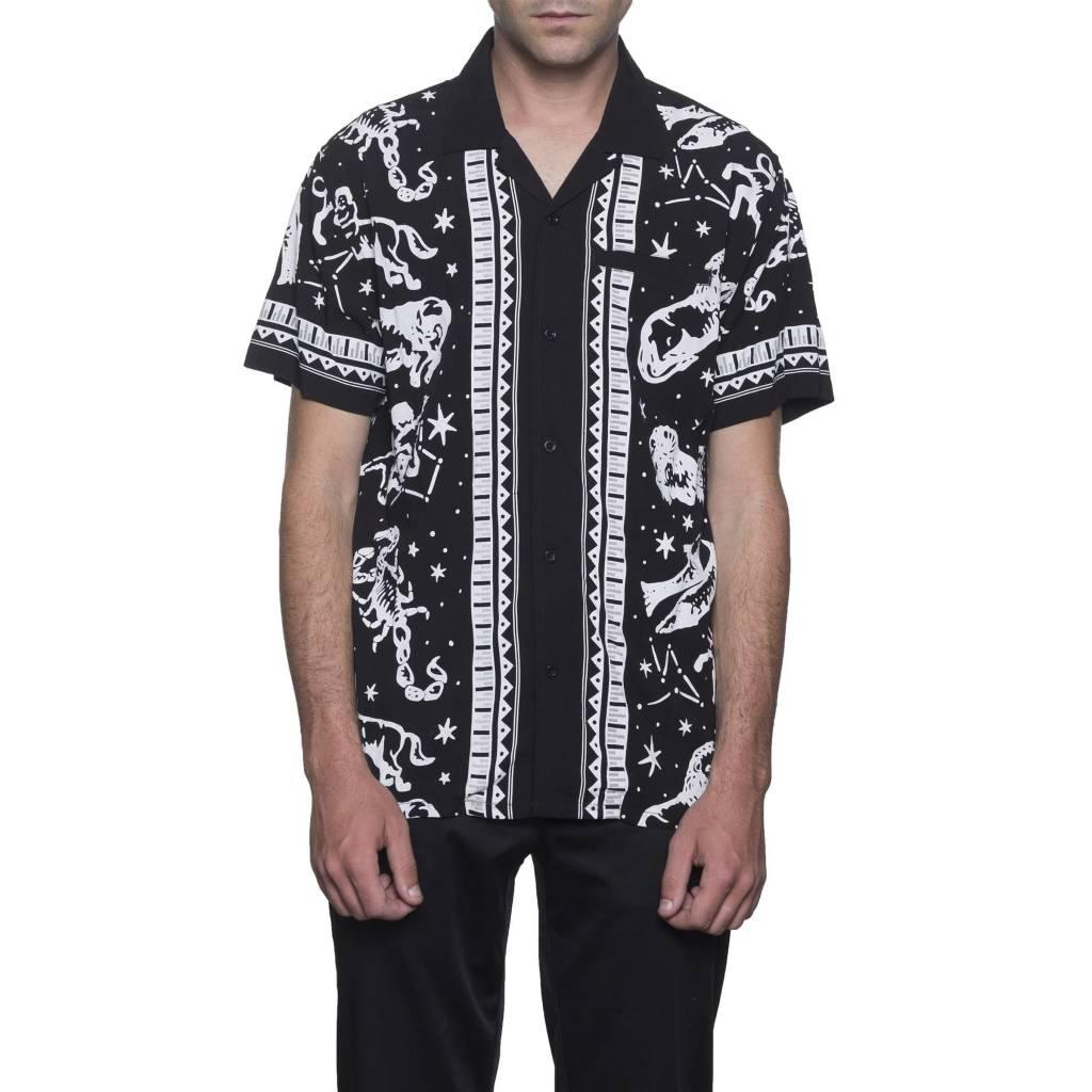 HUF Zodiac S/S Shirt Black
