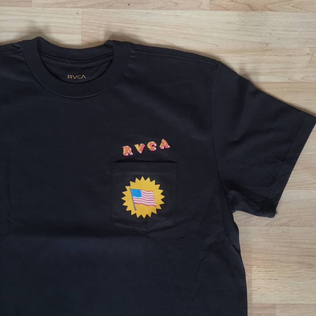 RVCA Blue Panther Black