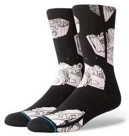 Stance Socks Oblow Camera Black Large