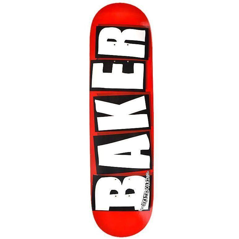 Baker Skateboards Brand Logo White 8.25""