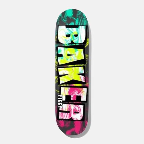 "Baker Skateboards Brand Name Ink Drops JF 8.38"""