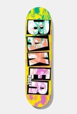 "Baker Skateboards Brand Name Ink Drops DN 8.0"""