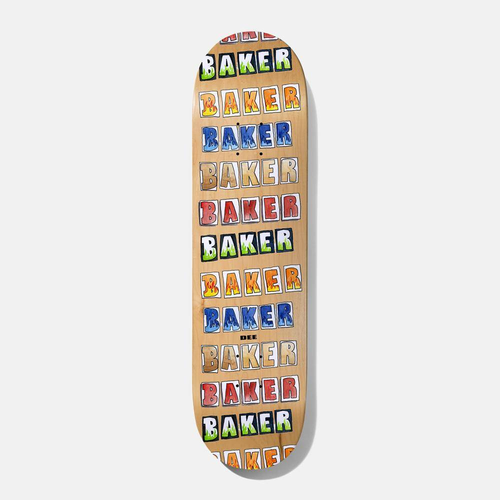 Baker Skateboards Colored Pencil DO 8.475""