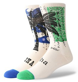 Stance Socks Oblow Palm Natural Large