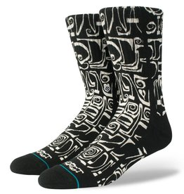 Stance Socks Frost Letters Black Large