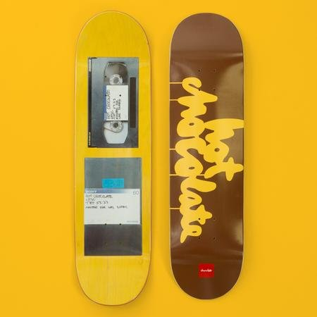 Chocolate Skateboards Chocolate Films Hot 8.25""