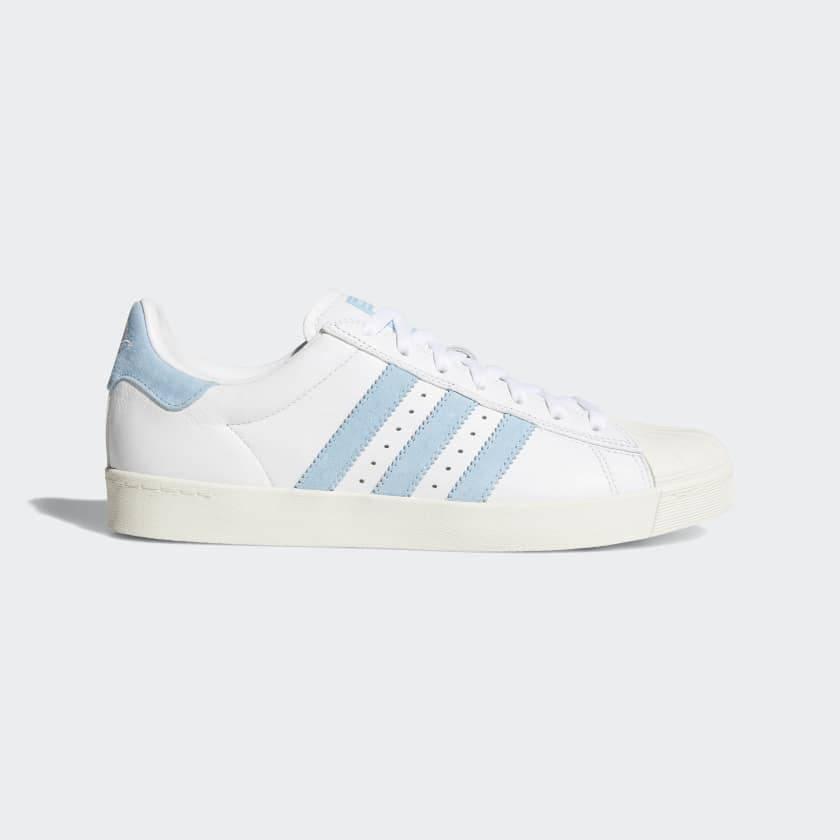 4eaef6706888 ... inexpensive adidas superstar vulc x krooked white light blue a511b 6d808