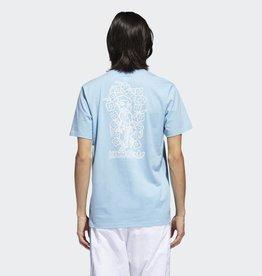 e46987cddda397 Adidas Adidas x Krooked Tee Carolina Blue