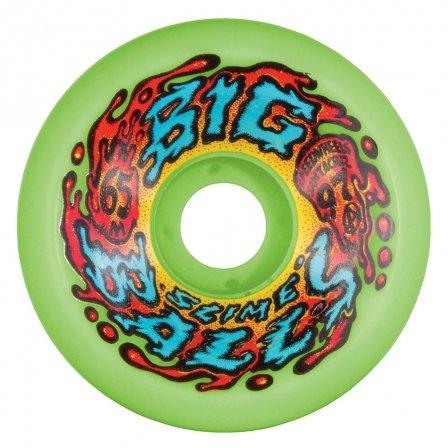 Santa Cruz Skateboards Slime Balls Big Balls Neon Green 65mm