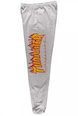 Thrasher Mag. Flame SweatPants Grey