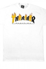 Thrasher Mag. Flame Mag White