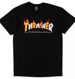 Thrasher Mag. Flame Mag Black