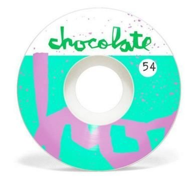 Chocolate Skateboards Early Chunk Staple 54mm