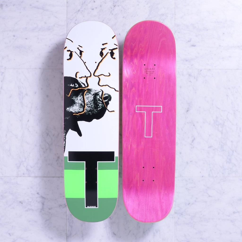 Quasi Skateboards Friend (Green) 8.5