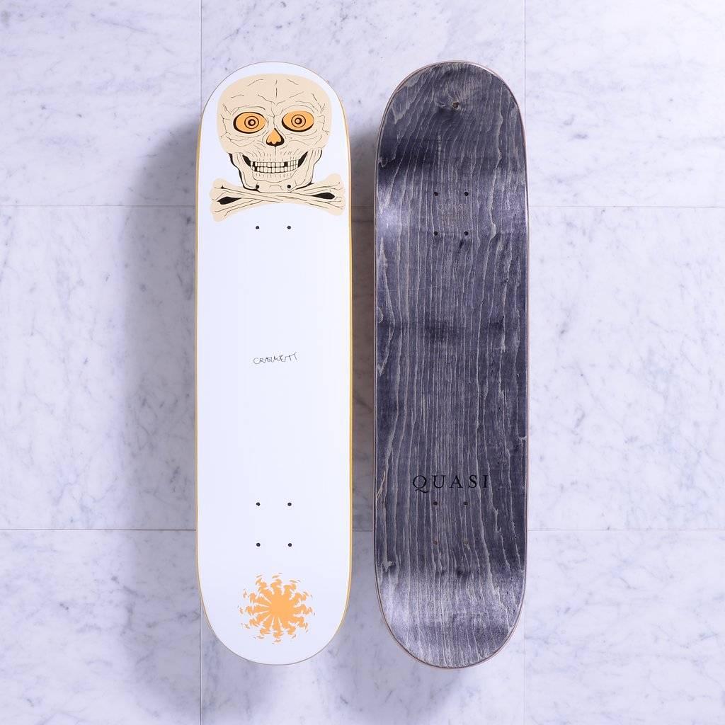 Quasi Skateboards Skul (Orange) 8.0